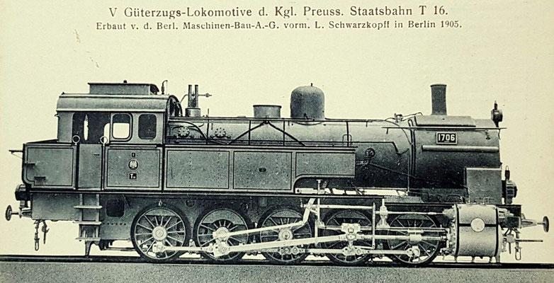 Preußische T16, 1905