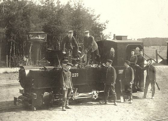 1910: schmalspurige Brigadelok 229