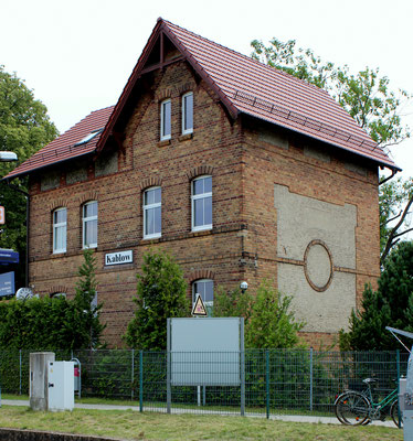 Bahnhofsgebäude Kablow, 17.07.2015