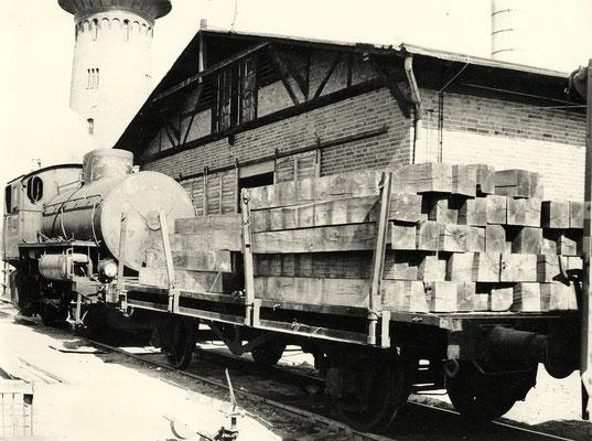 1990: Dampfspeicherlok im Einsatz