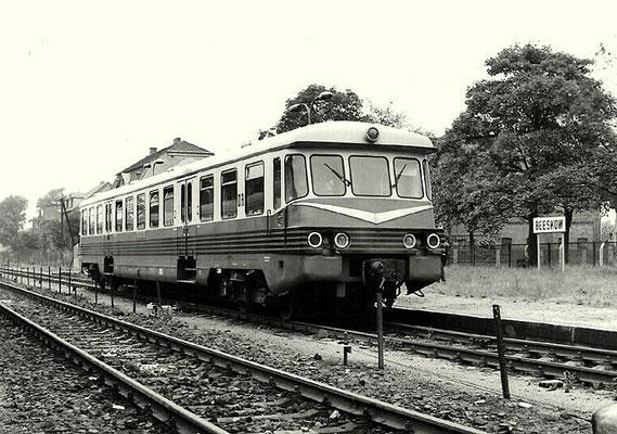 1977: Triebwagen 173 002 in Beeskow