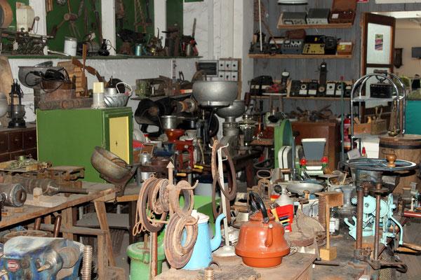 Historische Haushaltsgeräte
