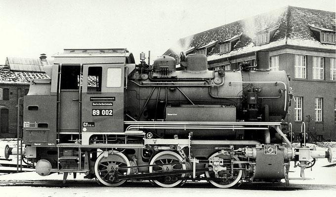 Rangierlok 89 002, 1934