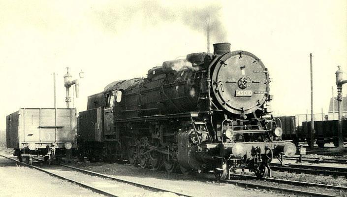 Um 1960: Lok 43 010 in Lübbenau