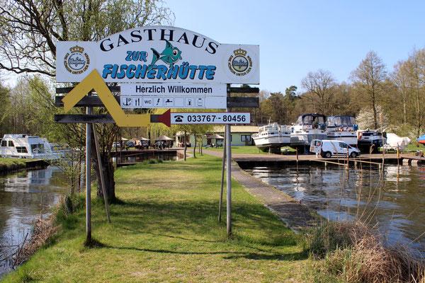 Gasthaus Fischerhütte in Blossin am Wolziger See