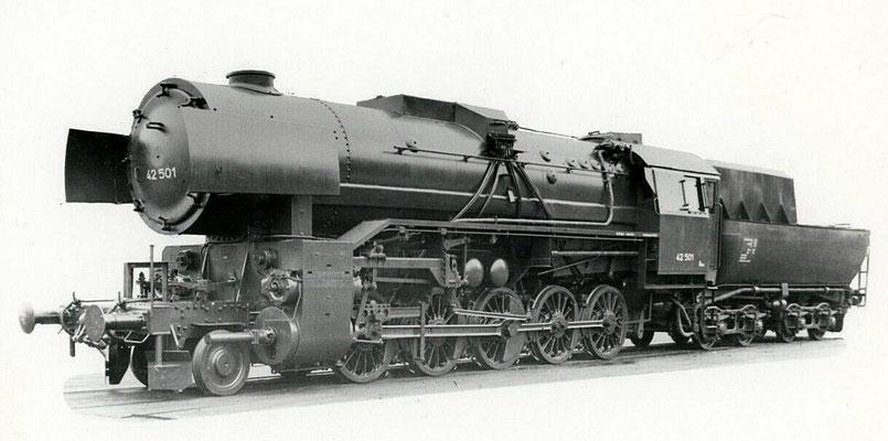 Kriegslok 42 501, Fabriknummer 12818, 1944