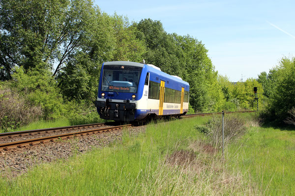 VT 010 am Hafen Königs Wusterhausen, 17.05.2017