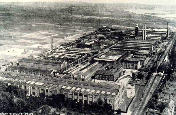 Fabrikanlagen der BMAG in Wildau im Jahre 1925