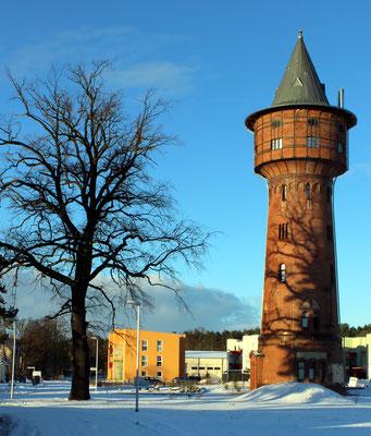 Der sanierte Wasserturm heute