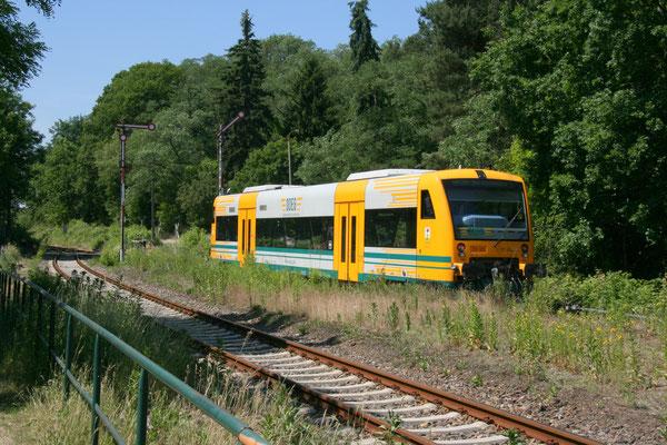 04.06.2011: Ausfahrt für ODEG-VT 61 nach KW