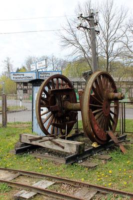 Treibragsatz einer Schnellzug-Dampflok