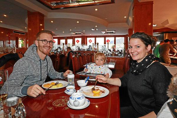 Familenbuffet - Kinder bis 2 Jahren essen gratis
