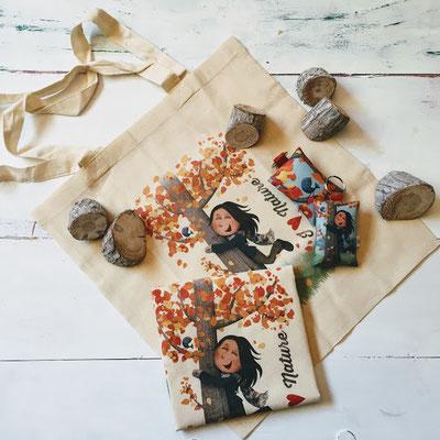 Tote bag I love nature