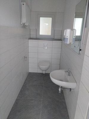 Sanierte WC-Räume