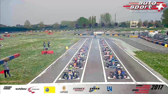 autobau Schweizer Kartmeisterschaft 2017 Quelle: swiss-sport.tv