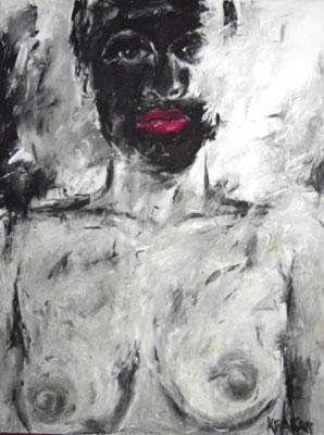 Anonym, 160 x 120  Acryl a. Lw.