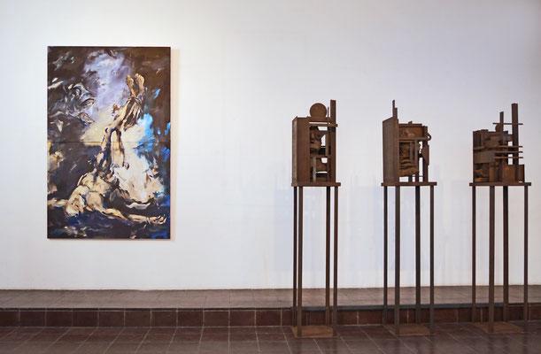St. Stephan,WÜ,  Bilder und Skulpturen, Hans Krakau