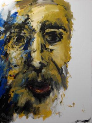 Das Gesicht des.....  160 x 120 Acryl a. Lw.