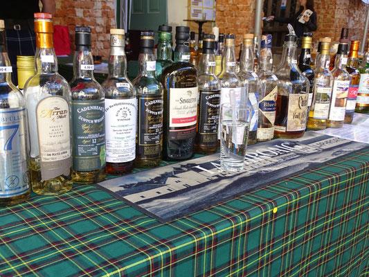 40 Sorten Whisky waren im Ausschank