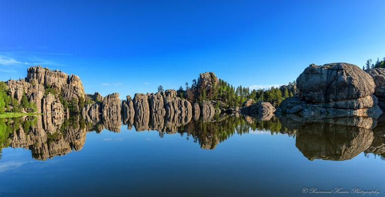 Sylvian Lake im Custer State Park - Black Hills, South Dakota