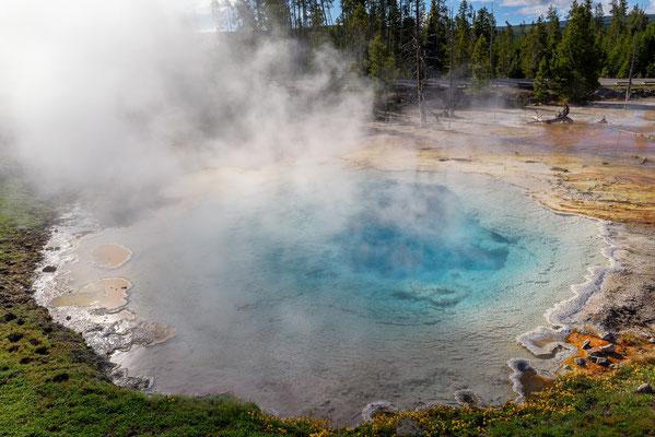 Heiße Quellen -  Yellowstone National Park, Wyoming
