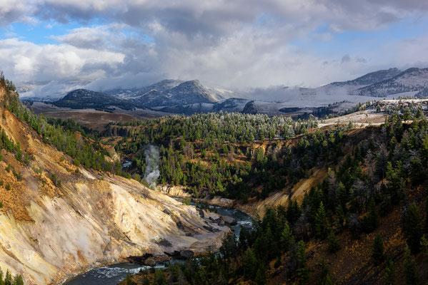 Feuer und Eis im Yellowstone NP, Wyoming