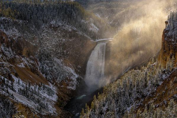 Lower Falls - Yellowstone NP, Wyoming