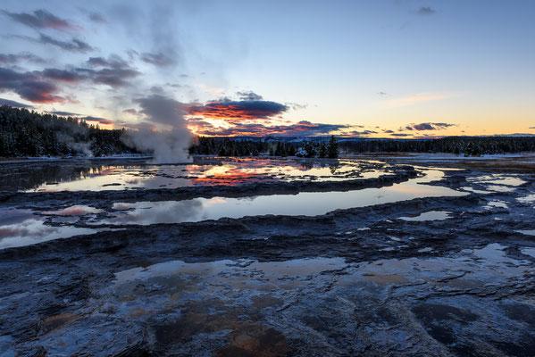 Great Fountain Geyser - Yellowstone NP, Wyoming