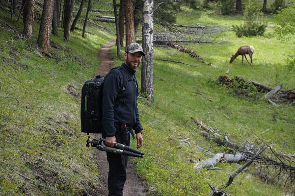 Übliches Setup, Yellowstone NP Wyoming