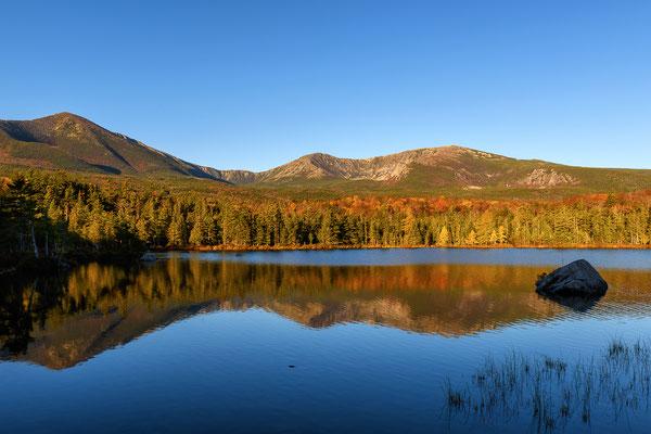 Sandy Stream Pond am Morgen, Baxter State Park - Maine