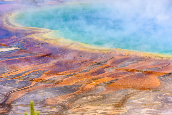 Grand Prismatic Spring -  Yellowstone NP, Wyoming