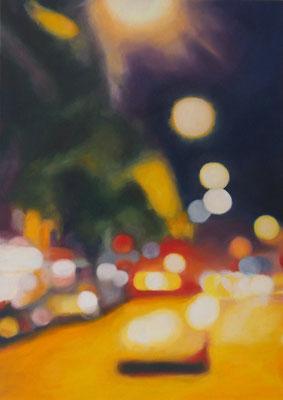 Deine Strasse, Oel auf Leinwand, 50 x 70, 2017 (verkauft)