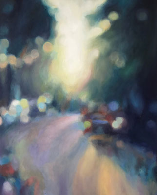 Bright Light, Oel auf Leinwand, 40 x 50, 2020
