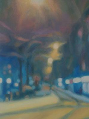 Passage 4, Oel auf Leinwand, 30 x 40, 2017 (verkauft)