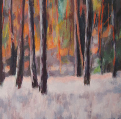 Märchenwald, Acryl auf Leinwand 40 x 40, 2014 (verkauft)