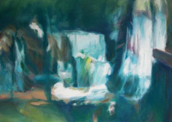 Spiegelung I, Oel auf Leinwand, 70 x 50, 2018