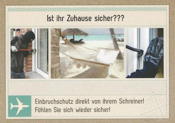 Bau- und Möbelwerkstatt Rainer Freialdenhoven Sicherheitstechnik
