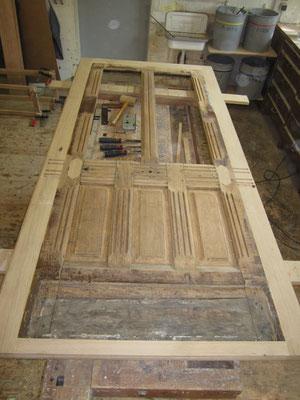 Bau- und Möbelwerkstatt Rainer Freialdenhoven Haustüren aufarbeiten