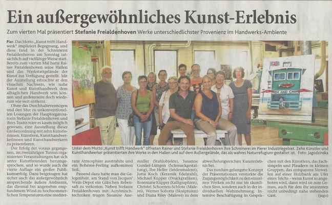 Schreinerei Freialdenhoven - Kunst trifft Handwerk 2016