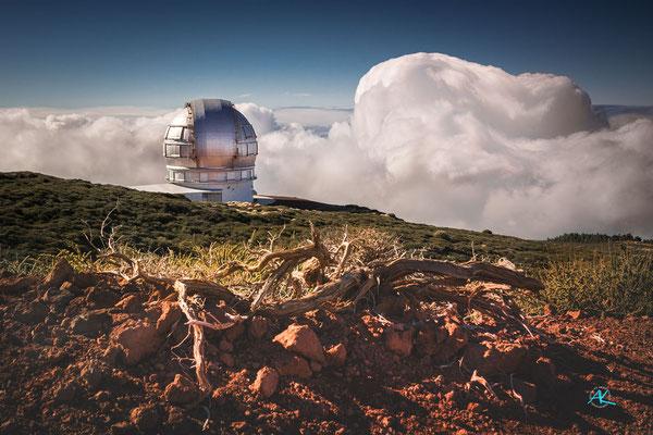 Gran Telescopio Canarias, Roque de los Muchachos
