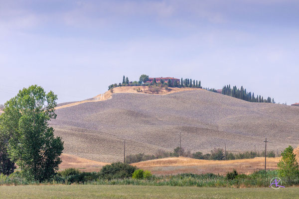 'Gepflügte Felder bei Monteroni D'Arbia' Crete Senesi