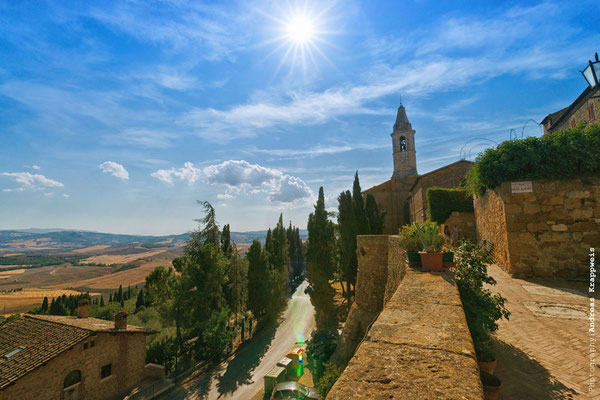 'Pienza Stadtmauer' Val D'Orcia