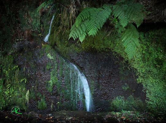 'Mini Wasserfall :) an der Levada'
