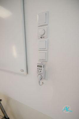 Heizung wird über Thermostate gesteuert