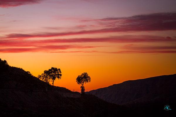 Barranco de Tirajana am frühen Morgen