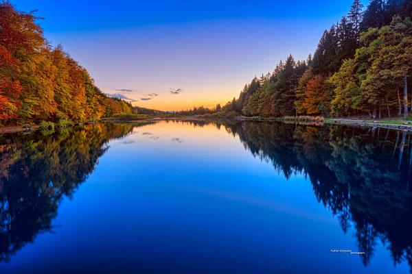 'Deininger Weiher im Herbst'