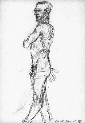 Manuel, 21 cm x 30 cm, Aquarellstift auf Papier, 6.4.2016