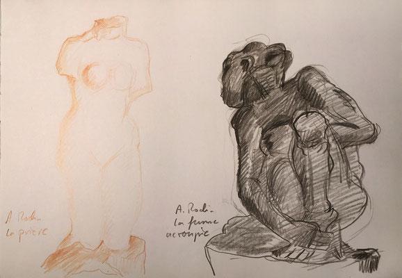 Musée Rodin, Paris; 26 cm x 18 cm, Dez. 2013