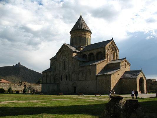 Die Swetizchoweli-Kathedrale in Mzcheta, Georgien; 17.10.2014