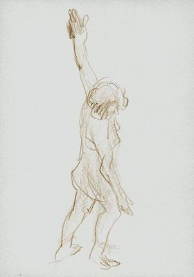 Carmen, 21 cm x 30 cm, Aquarellstift auf Papier, 4.2.2016